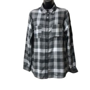 The North Place Plaid Flannel Top